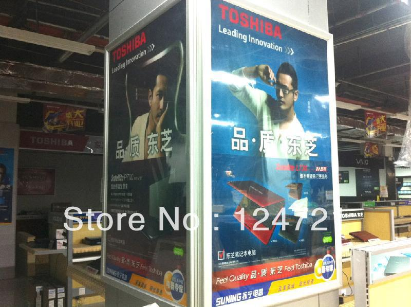 Advertising Aluminum Frame LED Photo Lightboxes wall murals baby room wall attachment wall - title=