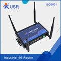 USR-G800-42 Промышленные Маршрутизаторы 4 Г Беспроводной Маршрутизатор Wi-Fi для IoT TD-LTE и FDD-LTE Сети-Стимулирование Сбыта