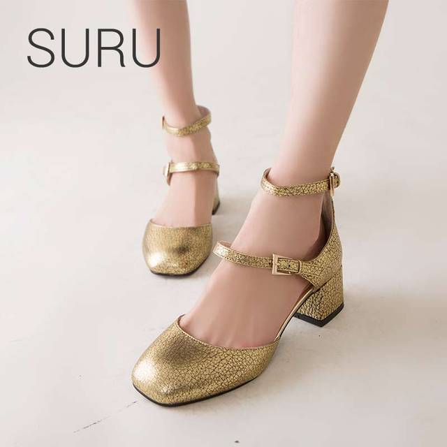 ed4d5b78cfe SURU-Classics-Vintage -Square-Toe-Mary-Janes-Shoes-Women-4-5cm-Chunky-Heels-Ankle-Strap-Pumps.jpg_640x640.jpg