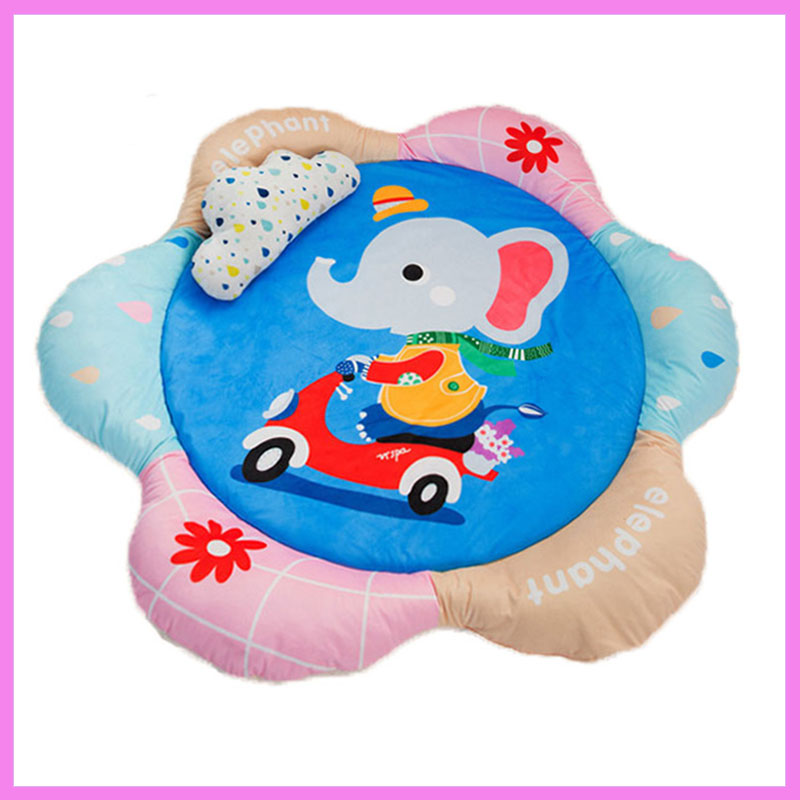 Baby Crawling Game Pad Playmat Protective Thickening Cotton Climbing Carpet Room Baby Gym Activity Play Mat Kids Ground Playmat цена 2017