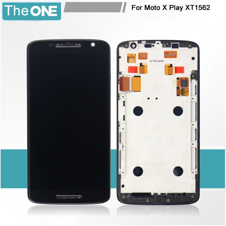 Free DHL Shipping Replacement LCD Display Digitizer for Motorola Moto X Play X3 XT1562 XT1563 Touch Screen Assembly+Frame 2016 sale rushed 10pcs free dhl ems for motorola moto xt1254 touch digitizer lcd display 100