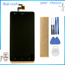 RUBINZHI With Tape Tools For Prestigio Grace R5 LTE PSP5552 DUO PSP 5552 LCD Display Screen With Touch Screen Assembly