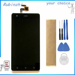 Image 1 - RUBINZHI pantalla LCD con cinta para Prestigio Grace R5 LTE PSP5552 DUO PSP 5552, montaje de pantalla táctil