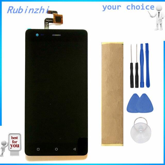 RUBINZHI pantalla LCD con cinta para Prestigio Grace R5 LTE PSP5552 DUO PSP 5552, montaje de pantalla táctil