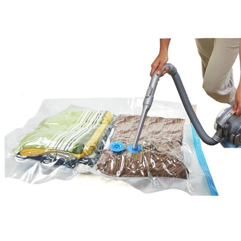 5pcs lot space saver vacuum seal storage bags medium to. Black Bedroom Furniture Sets. Home Design Ideas