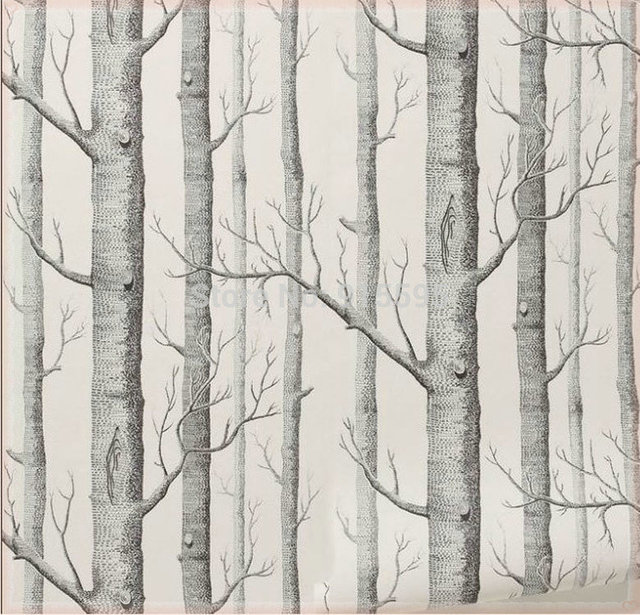 aliexpress  buy black white wood forest tree texture d, Living room