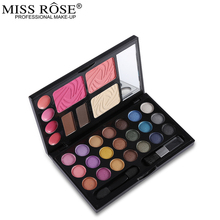 Professional Makeup Set Multi-function 21 Color Eyeshadow Palette + 3 Color Blusher + 4 Color Lipgloss + 2 Color Eyebrow Cake