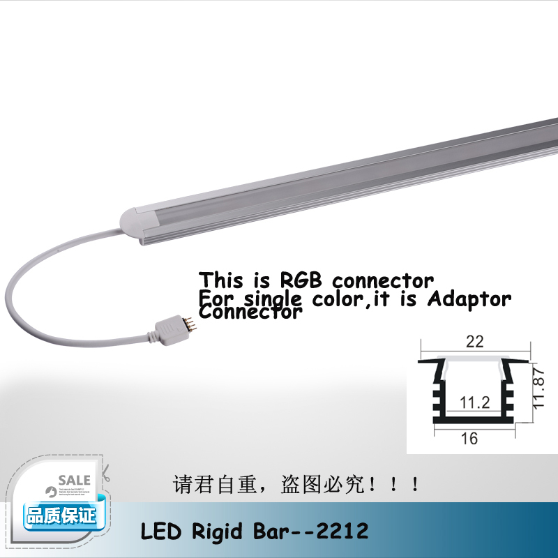 50cm High Power White/warm RGB LED Under Cabinet Lighting Aluminum Profile  LED Strip Light Bar For Jewelry Showcase 5Pcs/Lot In LED Bar Lights From  Lights ...