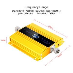 Image 3 - Yeni PCB 4g Lte 1800 MHZ güçlendirici LCD GSM Amplificador GSM 2g 4g güçlendirici DCS 1800 güçlendirici cep telefonu sinyal amplifikatörü tekrarlayıcı