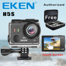 EKEN H5S Action Camera 2.0″ Touch Screen Ambarella Chip EIS Image Stabilization Action Cam 4K 30FPS 12MP Remote Controle Camera