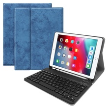 For iPad Air 3 10.5 Case Bluetooth Keyboard W pencil holder,Ultra Slim Stand Leather Cover For iPad Air 3 10.5 Case Keyboard стоимость