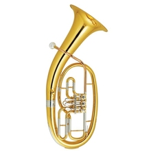 лучшая цена Brass Baritone Bb Key 3 valves Silver plated With ABS case and mouthpiece Musical instruments wholesale
