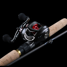 Superhard tune High carbon Insert festival Throwing pole 2.4 m pole pistol grip + 11BB Water droplets wheel Road sub Rod Combo