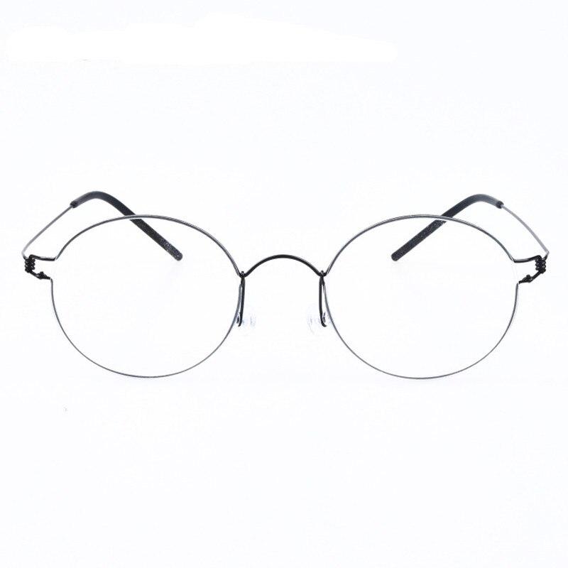 LONSY 2016 Fashion Schwarz Kunststoff Brillengestell Frauen Retro ...