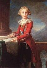 Film de peinture à l'huile de Louise Elisabeth Le Brun | reproduction faite à la main sur toile en lin, qualité de musée, DHL