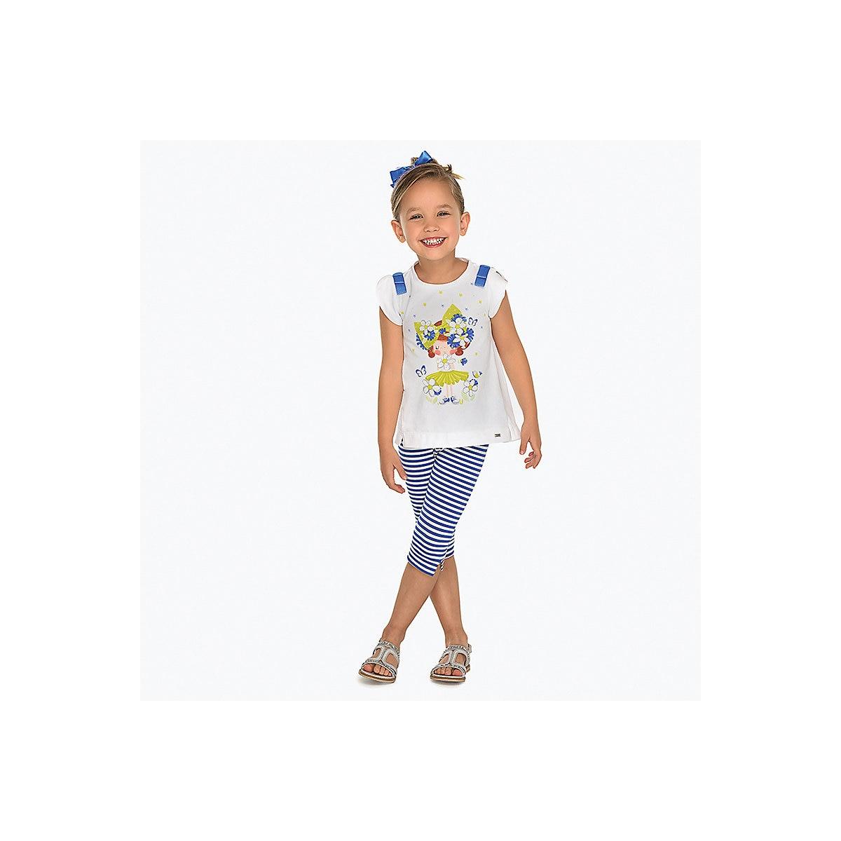 Children's Sets MAYORAL 10678643 Cotton Girls Fashion clothing costume for girl leggings T-shirt mayoral children s sets 8849667 cotton girls fashion clothing costume for girl leggings t shirt