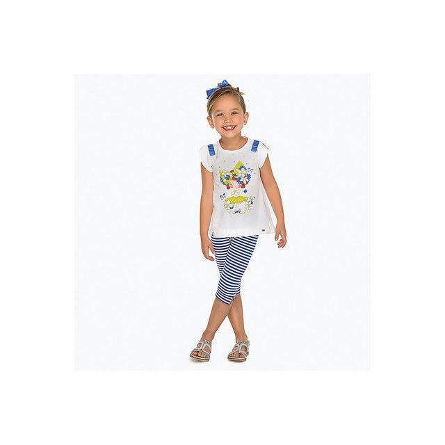 Комплект: футболка и леггинсы Mayoral для девочки