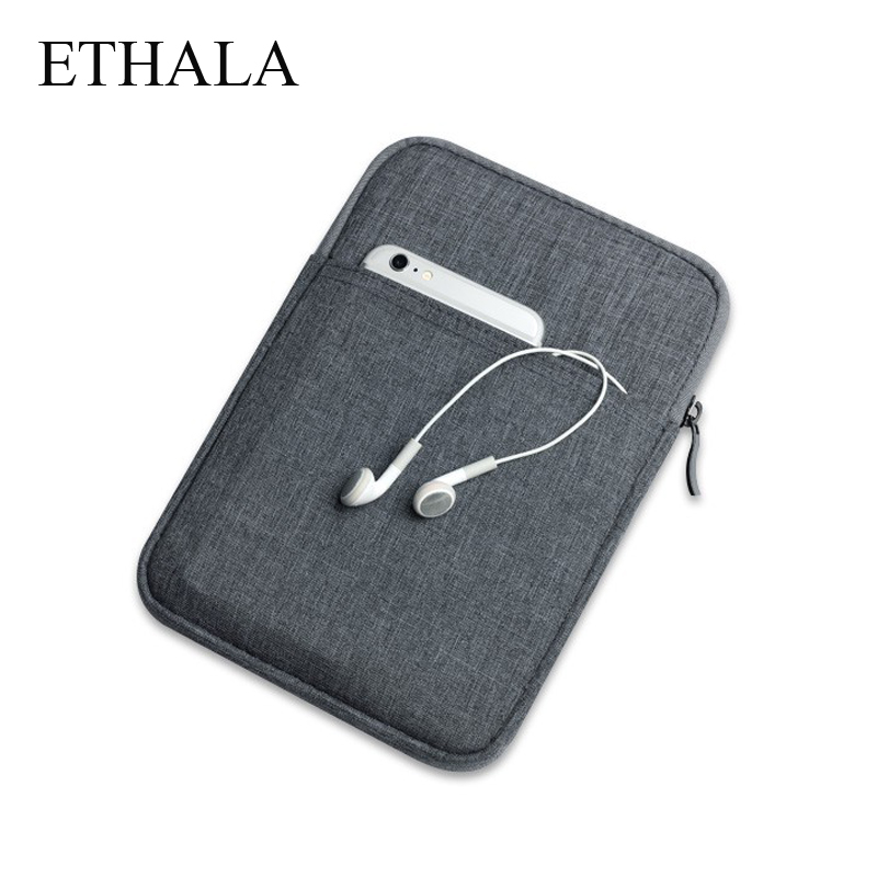 ETHALA Protcetive Case Shockproof Tablet Cotton Soft Cover Sleeve Pouch For ipad mini 2 3 4 Air 1/2 Pro 9.7 inch Causal Bag