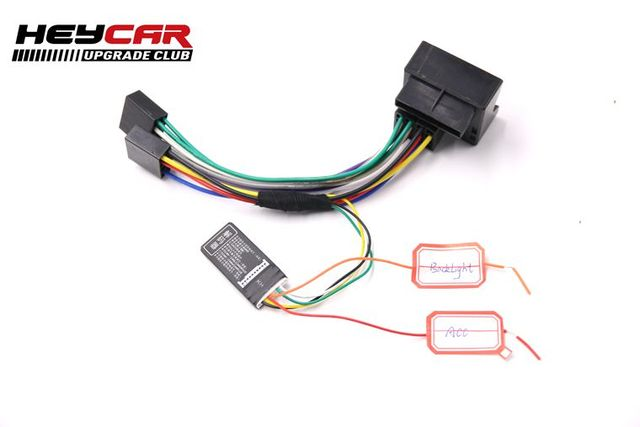 US $16 79 |EASY INSTALL FOR VW RCN210 UPGRADING CONVERSION CABLE With  CanBus Gateway emulator Simulator-in Auto Fastener & Clip from Automobiles  &