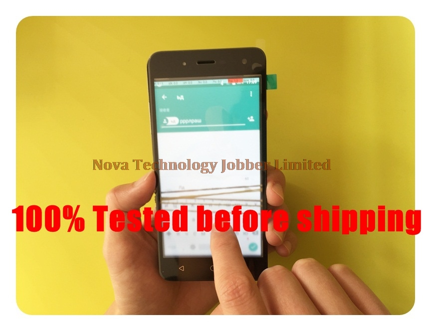 Wyieno 100% Tested touchpad For BQ BQ-5057 Strike 2 BQ 5057 Touch Screen Digitizer Glass sensor Panel Replacement + tracking
