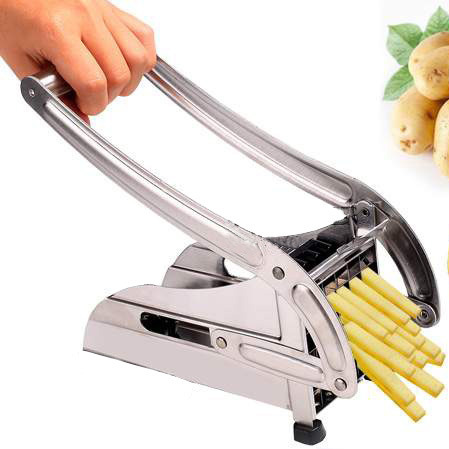 Whole Sale 24pcs Lot Stainless Steel Potato Chipper French Fries Slicer Chip Cutter Chopper Maker Uk