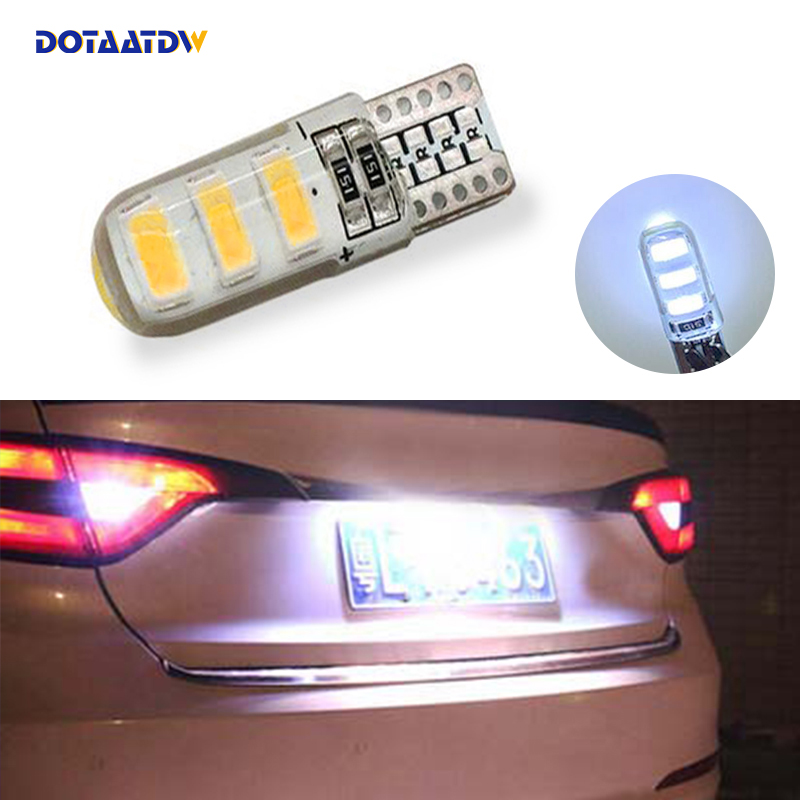 DOTAATDW 1x T10 SMD 5630 Car <font><b>LED</b></font> License Plate Auto Canbus <font><b>Light</b></font> W5W 168 194 192 For <font><b>mazda</b></font> 3 Axela <font><b>mazda</b></font> <font><b>6</b></font> <font><b>mazda</b></font> cx-5 ATENZA image