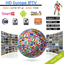 12 months Europe IPTV subscription Spain Italy Portugal France UK US IPTV for Android tv