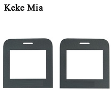 Keke Mia New Black Front Glass Lens For Philips Xenium Philips E163k Touch Screen Digitizer By Free Shipping Free Adhesive+Wipes free shipping original lcd touch screen assembly for philips v787 ctv787 cellphone xenium mobile phone