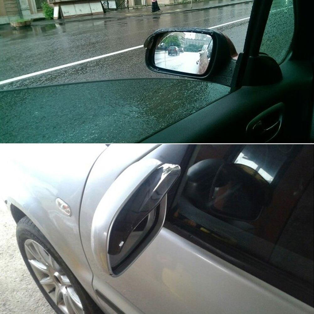 2x rainproof car rearview mirror sticker anti-fog protective film rain shield I2