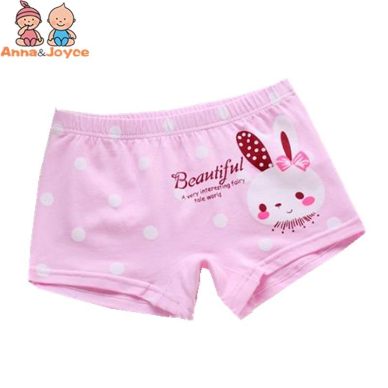 3pcs/lot Girls Cartoon Boxer  Panties  Children's Underwear Cotton Boxer Carton Underwearprincess Girls Briefs 5