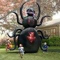 H026 3.5 m Envío Libre Inflable gigante animado araña de Halloween Al Aire Libre Decoración de La Yarda/zombie/caminar/Calabaza con luz