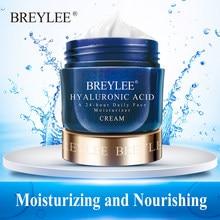 BREYLEE nawilżający twarzy krem z kwasem hialuronowym wybielanie pielęgnacja skóry twarzy leczenie trądziku odżywczy 24-godziny dziennie 40g
