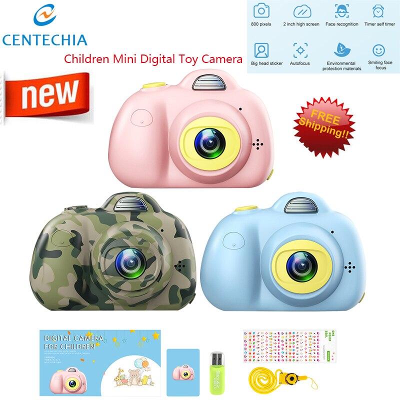 Cute Mini Digital Photo Camera Baby Kids Camera Photography Prop Decoration Children Educational Toy Birthday Christmas Gifts
