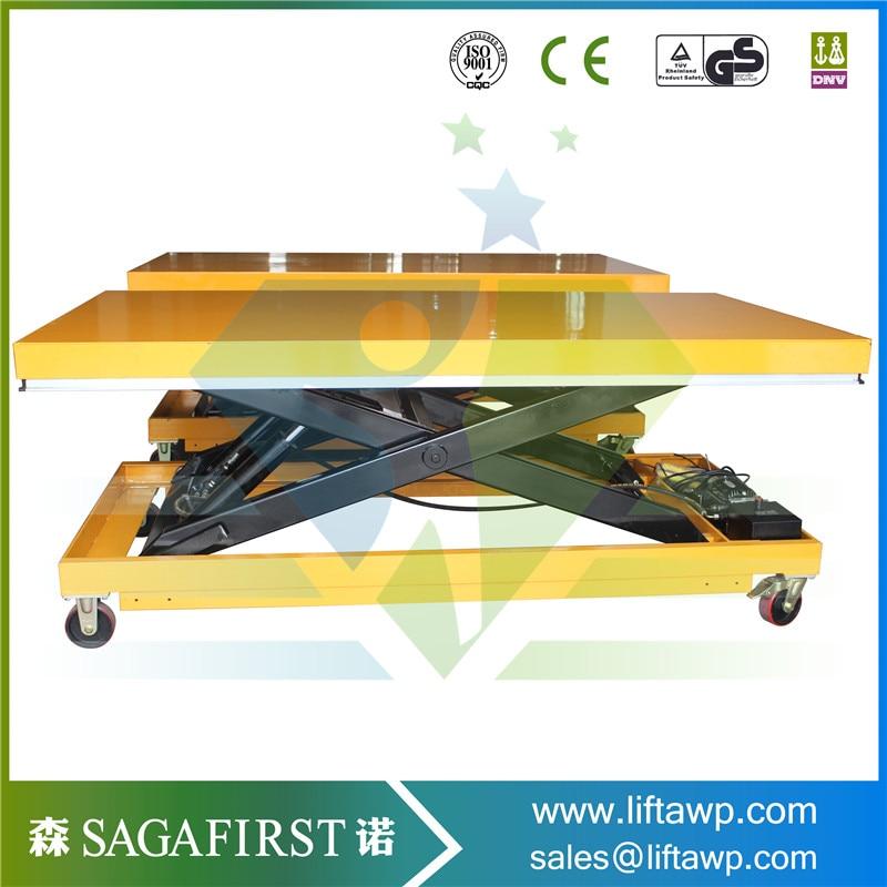 2m Meter Mobile Lift Hydraulic Scissors Lifting Platform