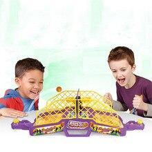 MINOCOOL креативные настольные игры Взаимодействие игрушки Educatif Спорт Обучение пальчиковая стрельба баскетбольные стенды с музыкальным звуком машина