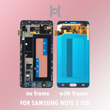 Original Quality LCD Screen for Samsung Galaxy Note 5 N9200 N920G Touch Screen Digitizer Assembly Replacement Free Shipping