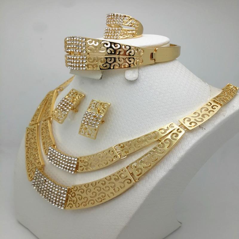 Dubai Goldcolor Jewelry Set...