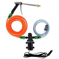 XTL 3210 12V 6A 80w High Pressure Cleaning Machine Home Automatic Car Washing Machine Portable Electric Brush Car Pump Water Gun