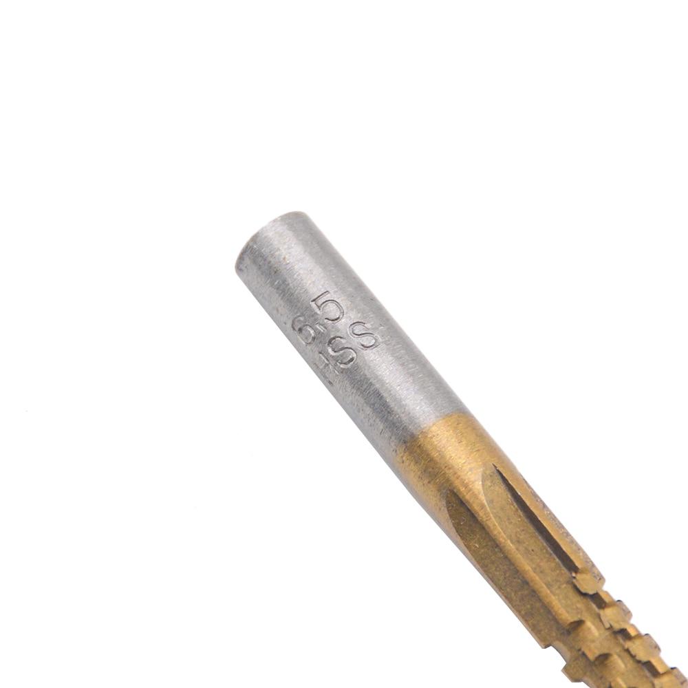 6 stks / partij professionele titanium gecoate hss boor & zaag - Boor - Foto 4