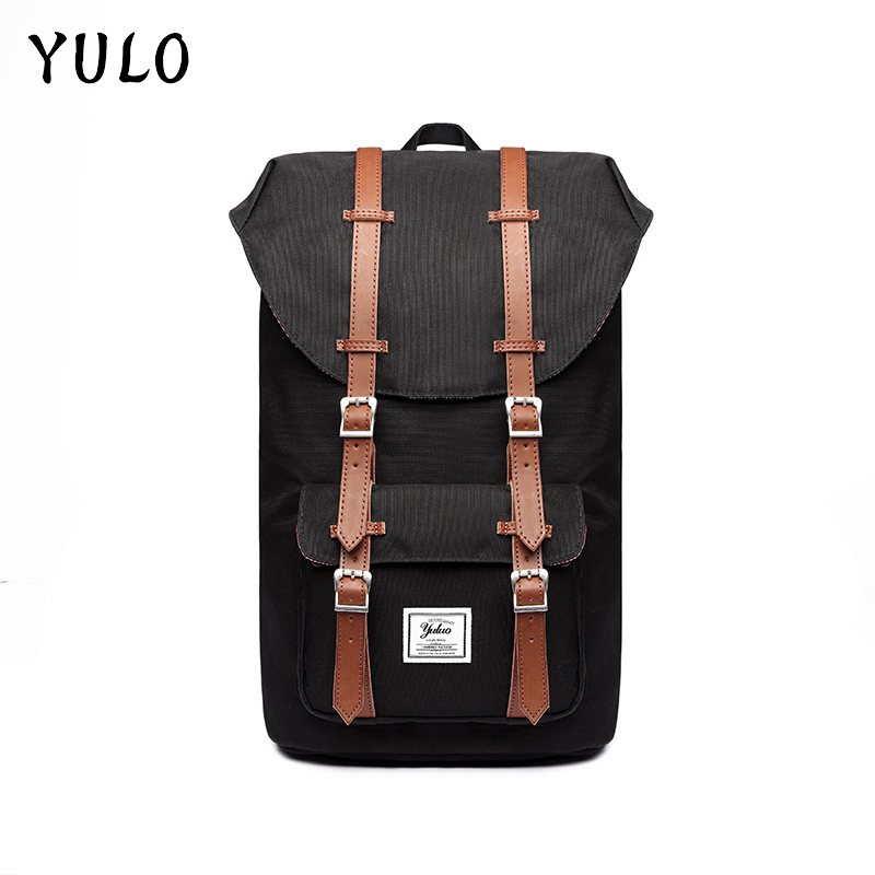 YULO Brand Stylish Travel Large Capacity Backpack Male Luggage Shoulder Bag Computer Backpacking Men Functional Versatile Bags kaka brand stylish waterproof large capacity backpack male luggage travel shoulder bag computer backpack men multifunctional bag