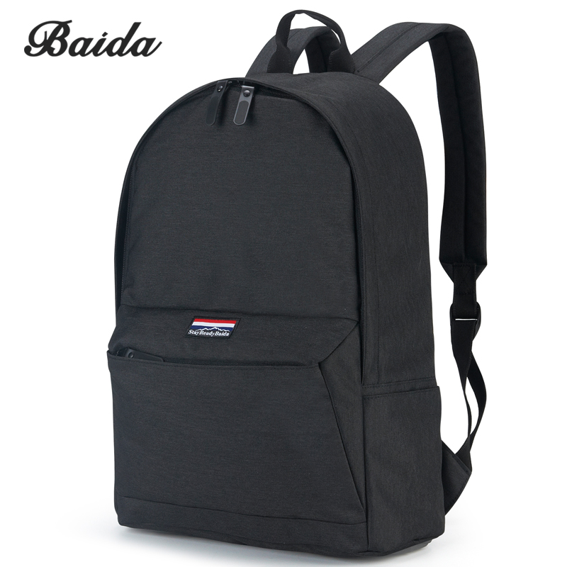 DAIDA Fashion School Backpack Women Children Schoolbag Back Pack Leisure Ladies Knapsack Laptop Travel Bags for Teenage Girls fashion school backpack men boys schoolbag back pack leisure korean man laptop knapsack waterproof travel bags for teenagers