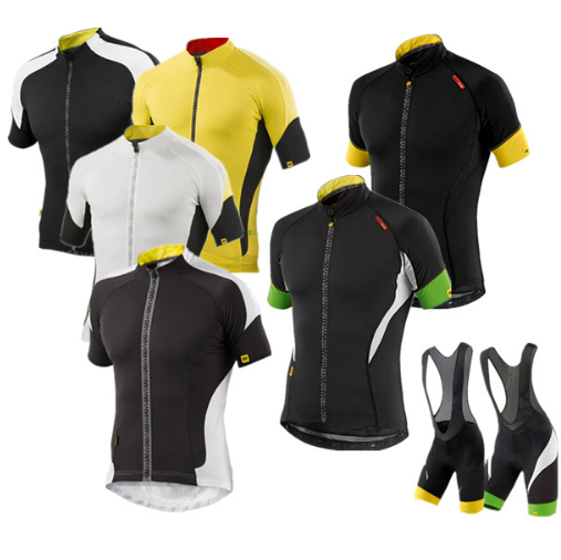 Mavic 2017 Radtrikot Sommer Team Kurzarm Radfahren Set Bike Bekleidung Ropa Ciclismo Radfahren Kleidung Sport 9D Gel Pad