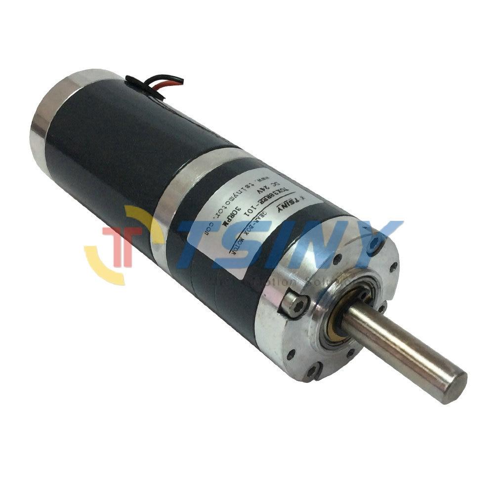 high torque 24v 30rpm dc motor diameter 38mm planetary On 24v dc gear motor