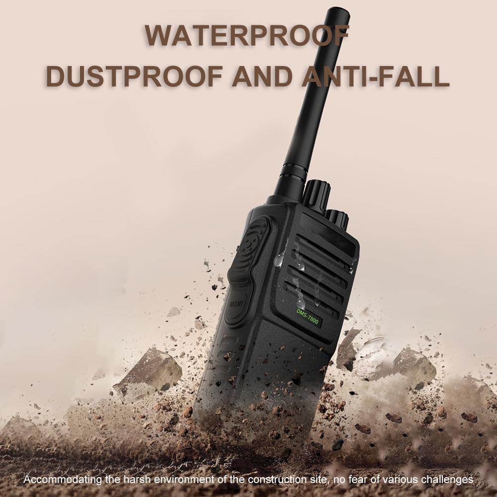 8W Walkie-talkie For Radio Hunting Handheld Voice Encryption Anti-jamming Outdoor Rescue Handheld Walkie-talkie Transceiver UV