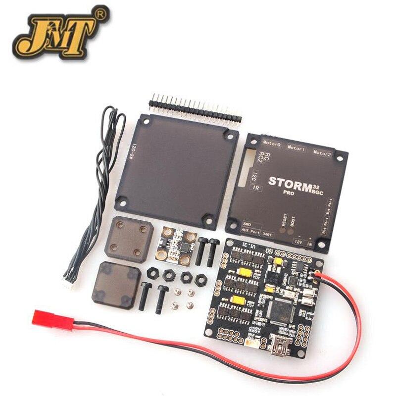 JMT Storm32BGC Pro 32Bit Gimbal Controller Board Dual Gyroscope w/ Anti-Interference Module for Multicopter Upgraded Version pro 32 статуэтка мал повар profisti parastone 869379