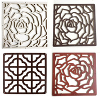 Entranceway Hanging Wooden carved Cutout Carving room divider partition wall biombo room Dividers Partitions