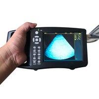 Portable Pig Ultrasound Veterinary Animal Pregnancy Test Instrument Color B Mode Ultrasonography Ultrasonic Detector