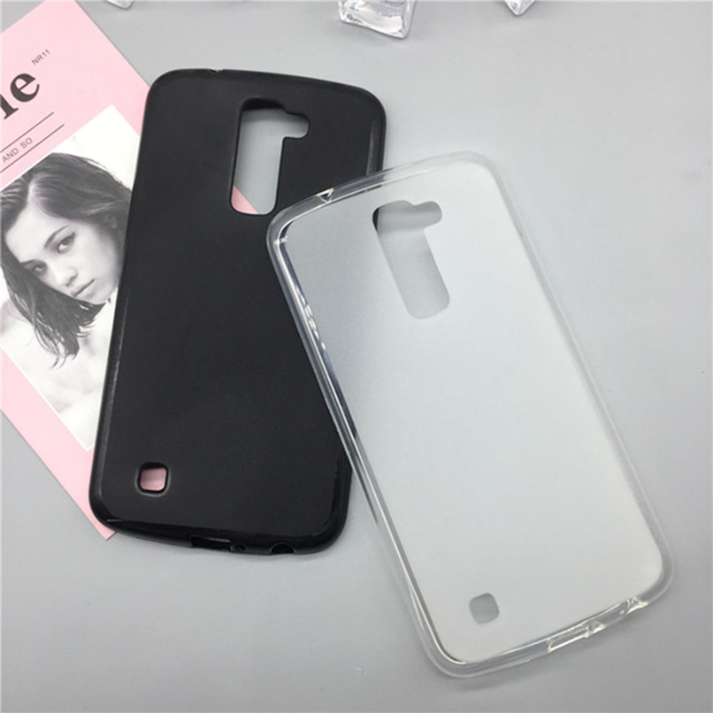 <font><b>Case</b></font> Soft Silicon Phone Para for <font><b>LG</b></font> C40 <font><b>Leon</b></font> <font><b>4G</b></font> <font><b>Lte</b></font> H340N H320 C50 H324 Luxury TPU Fundas Full Cover Shell Black <font><b>Cases</b></font> Coque image
