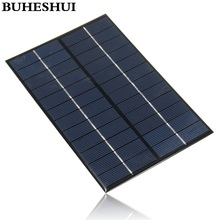 BUHESHUI 12V 4.2W 350MA Solar Panel Mini Solar Cell Panel Solar Module DIY Solar System Battery Chargr 200*130*3MM High Quality