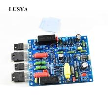 Lusya 2 sztuk QUAD405 moc dźwięku płyta wzmacniacza 100W * 2 wzmacniacz audio stereo zestaw DIY zmontowana płyta